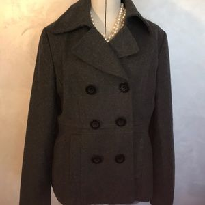 Nine West Wool Blend Jacket Coat